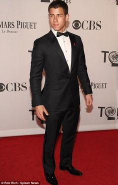 Nick Jonas... all grown up! Wow when did this happen?