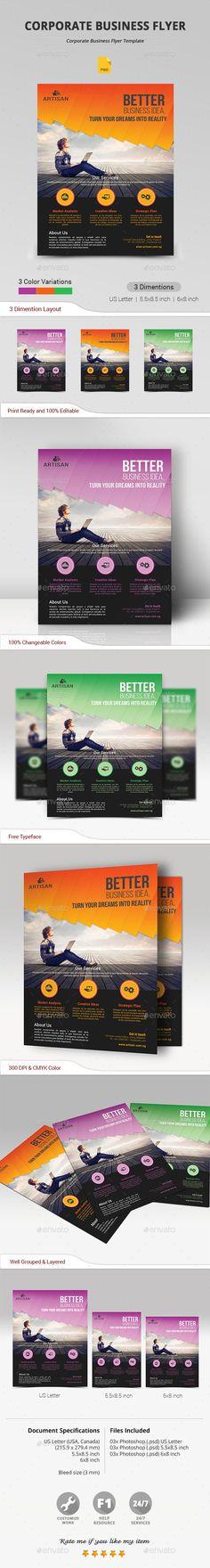 Conference Flyer Template V2 Flyers, Flyer template and Templates - conference flyer template