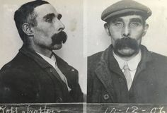 The previously unseen photographs of criminals dating back to 1870 are being shown in Edinburgh.
