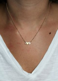 This simple and sophisticated necklace is great for every day wear or to be layered with your other favorite necklaces. The dainty gold chain is lightweight and great for every day. This listing is for a GOLD LOWERCASE necklace with two initials and a heart in GOLD. LEAVE ME A MESSAGE