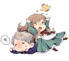 Hetalia (ヘタリア) - Prussia x Hungary (PruHun) ❤️ >>> Don't ship, but I love their friendship. <<< SHIP