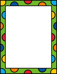Comes in several colors Classroom Borders, Bulletin Board Borders, Page Borders Design, Border Design, Borders For Paper, Borders And Frames, Binder Cover Templates, School Border, Bullet Journal Banner