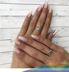 26 Ideas For Faded French Manicure Acrylic Wedding Nails manicure style art ideas art style design nail arts nails nail art French Nails, Faded French Manicure, Glitter French Manicure, French Pedicure, French Manicure Designs, Pedicure Designs, Pedicure Ideas, Sparkle Nails, Manicure Colors
