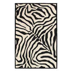 LR Resources Fashion Zebra Rug Taupe / Silver - FASHI02510TAU90C9