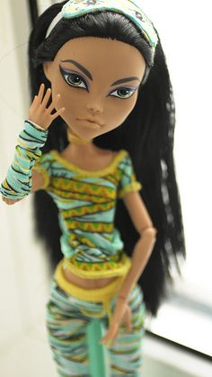 Monster High Cleo de Nile custom by i1473, via Flickr