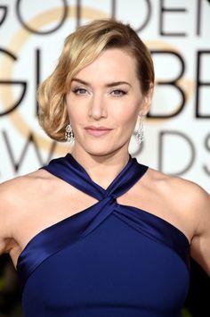 Kate Winslet aux Golden Globes 2016
