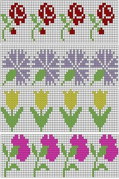 1 million+ Stunning Free Images to Use Anywhere Tiny Cross Stitch, Cross Stitch Bookmarks, Beaded Cross Stitch, Cross Stitch Borders, Crochet Cross, Crochet Chart, Cross Stitch Flowers, Cross Stitch Designs, Cross Stitching