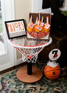 "Photo 7 of 28: Birthday ""Basketball Bash"" 