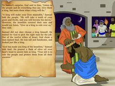 Free Bible Lesson Plans, Cartoons, and Puzzles for parents and teachers. Learn about the Witch of Endor, the danger of witchcraft, and King Saul. Witch Of Endor, King Do, Bible Stories For Kids, Free Bible, Bible Lessons, Sunday School, Lesson Plans, Israel, King David