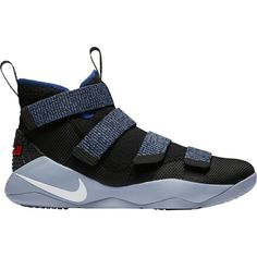 premium selection 1acba ed9e6 Nike Men s Zoom LeBron Soldier XI Basketball Shoes, Black Deep Royal Blue  Chino Hills