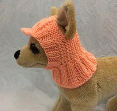 Ropa para mascotas ropa traje Crochet visera sombrero de la