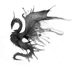 Tattoo Dragon Acuarela Ideas For 2019 Body Art Tattoos, Tatoos, Star Tattoos, Image Originale, Desenho Tattoo, Dragon Art, Dragon Plate, Future Tattoos, Mythical Creatures