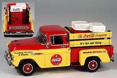 "1957 Chevy Pickup ""Coca-Cola"" w/Coke Machines (1/43)"