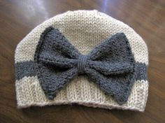 cutest. baby. hat. ever! I have to knit this!