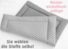Wickelunterlagen - freie Farbwahl, Wende- Wickelauflage - ein Designerstück von fabrik-handart bei DaWanda