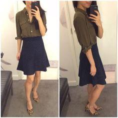 Wardrobe Staples Series: Styling a Sheath Dress | Extra Petite | Bloglovin'
