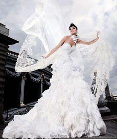 hayari paris wedding dress