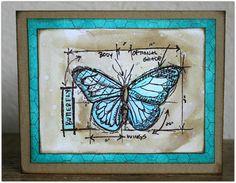 Tim Holtz butterfly 2