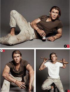 Chris Hemsworth - Thor - The Avengers Cast