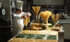 Making pasta fresh is an art, what is your favourite shape #Panarottis
