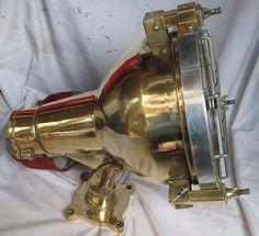 Lot Of 10 Pics Nautical Marine Brass & Aluminium Deck  Light 100% Original-1999