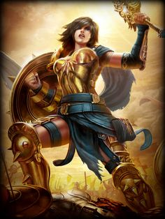 """Belona é a deusa romana da guerra, de origem etrusca, pode ter sido a deusa da guerra original dos romanos, anterior ao sincretismo com a cultura helênica, após o qual foi identificada com a deusa grega Ênio; é uma das poucas divindades apenas puramente romanas como Liber Pater (Baco) e Maia. Por maiores que sejam a analogia de Marte como deus romano da guerra, Belona era a fúria da guerra. Deu origem ao substantivo feminino belona, para designar guerra e a palavras como """"bélico""""."""