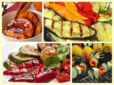 Beautiful grilled veggies