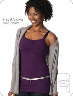 Glamourmom Nursing Bra Tank Top  (best quality nursing tank top I was able to find, lovely fabric, internal bra-shelf wich can be adjusted)