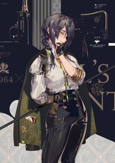 "Anni Commemorative Models"" / Illustration by ""零@通販始めた"" [pixiv] Female Character Design, Character Design Inspiration, Character Concept, Character Art, Concept Art, Anime Art Girl, Manga Girl, Anime Girls, Anime Military"