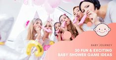 How do you plan an afternoon of fun? Our article will tell you the 30 Best Baby Shower Game Ideas for either party crowd. #babyjourney #babyshowergameideas #babyshower #gameideas Baby Shower Duck, Fun Baby Shower Games, Baby Shower Fall, Baby Shower Parties, Play Doh Baby, Baby Jeopardy, Baby Word Scramble, Baby Prediction, Baby Words