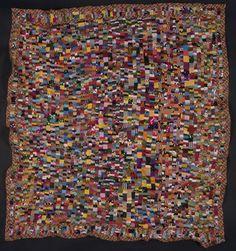 """Anna Williams, quilt CXCI, """"Many Minis + Glitter,""""67"""" X 71"""" , 1998."""
