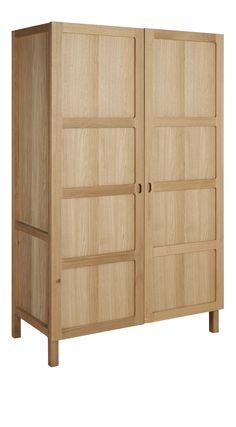 RADUS Schrank aus Eichenholz mit 2 Türen
