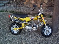 It was so hard to wear these things out.  Lots of fun.  1973 Honda CT 70