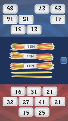 Math Slide: tens & ones ($0.00 with iAP option for 1.99) a multiplayer game helping children understand tens and ones; numbers up to 100. Players learn by sliding tiles into the center to match an answer, equation or image. The player who slides their tiles first wins.  Understanding tens and ones is a key math concept critical in a child's development. Progressing from counting to using number facts and place value is difficult for many children.