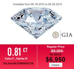 GIA diamond via HungPhatUSA.com  Let come to http://www.hungphatusa.com   #diamond #engagementring #weddingband #jewelry #menring #womenring #18Kwhitegoldengagementring #hungphatusa