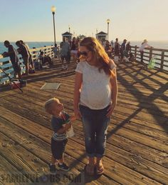 Missy Lanning and Son, Ollie Lanning of Daily Bumps.
