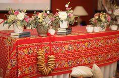 Осенняя свадьба в русском стиле