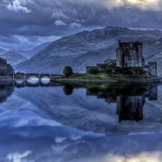 Eilean Donan castle by bluestardrop - Andrea Mucelli