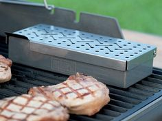 Stainless Steel Smoker Box: Turn your propane grill into a smoker with the Weber Stainless Steel Smoker Box ($25).