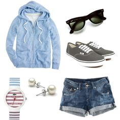 chill - though I'd have to learn to feel more confident in shorts. Cute Work Outfits, Casual School Outfits, Summer Outfits, Dope Fashion, Fashion Outfits, Sweet Style, My Style, Teen Pink, Passion For Fashion