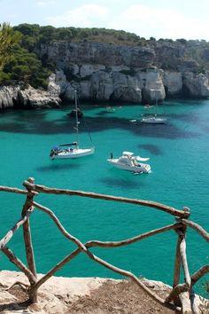 Romantic Beach Cala Macarella, #Menorca