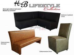 Eetkamer hoekbank op maat - HB Lifestyle Collection Model ...