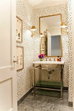 Prepping the Powder Room