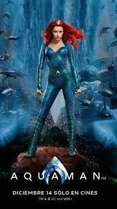 Watch Aquaman FULL MOVIE Sub English Aquaman Film, Aquaman 2018, Dc Movies, Movie Characters, Mera Dc, Gal Gabot, Posters Vintage, Batman Begins, Detective Comics