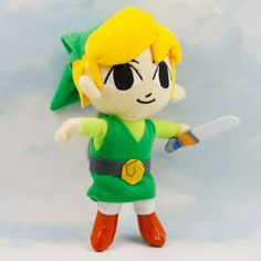Legend of Zelda Link Plush 6""