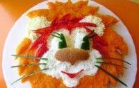 Салат для детей «Львенок» / Детские рецепты