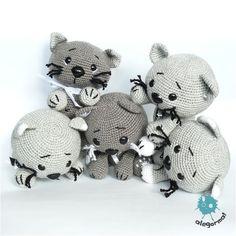 www.alegorma.com/sklep #alegorma #amigurumi #szydełkowce #crochet #cat