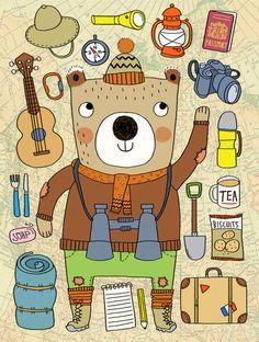 Jasper Bear illustration- Sophie Crichton.