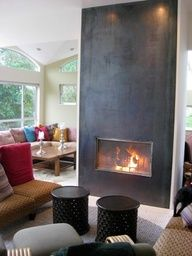 Two Way Fireplace Fascinating Extraordinary Luxurious