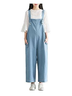 45a611227b7b Gooket Women s Juniors Casual Loose Wide Leg Strappy Pants Sleeveless  Jumpsuit Rompers overalls